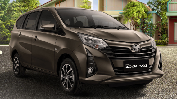 Brosur Kredit Toyota Calya Malang