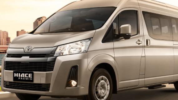 Brosur Kredit Toyota Hiace Malang