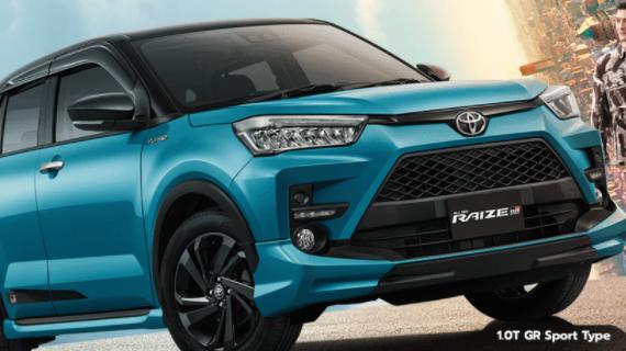 Brosur Kredit Toyota Raize Malang
