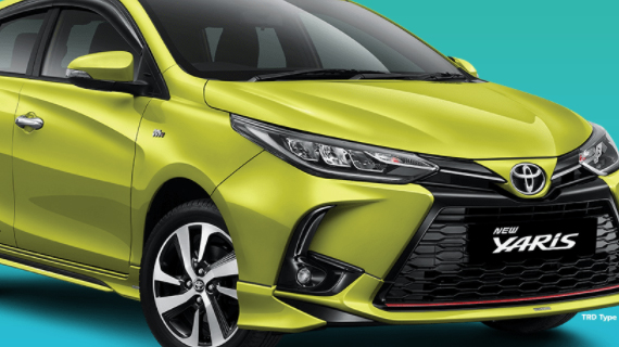 Brosur Kredit Toyota Yaris Malang