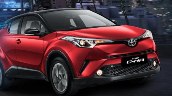 Harga Toyota CHR Malang 2021