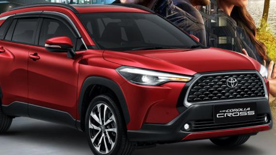 Harga Toyota Corolla Cross Malang 2021