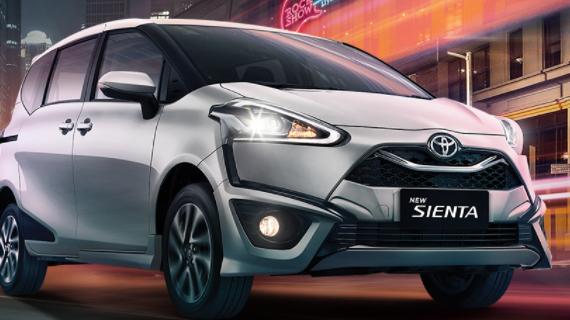 Info Harga Mobil Toyota Sienta Malang