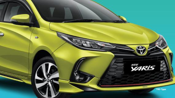 Info Harga Mobil Toyota Yaris Malang