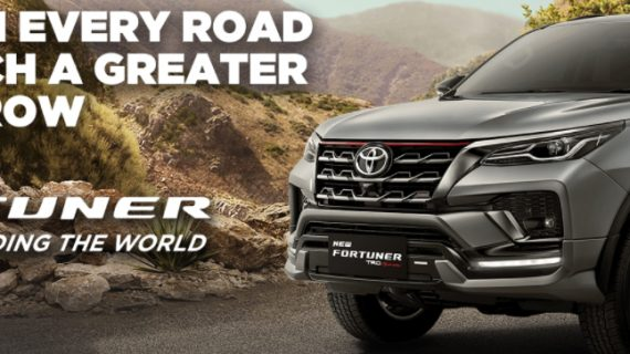 Mobil Toyota Fortuner Malang