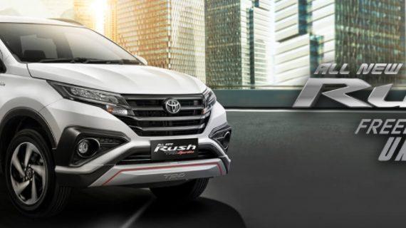 Mobil Toyota Rush Malang