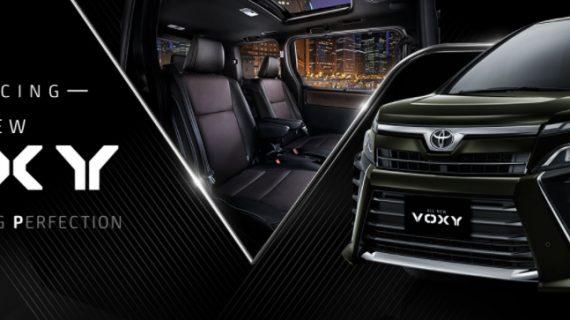 Mobil Toyota Voxy Malang